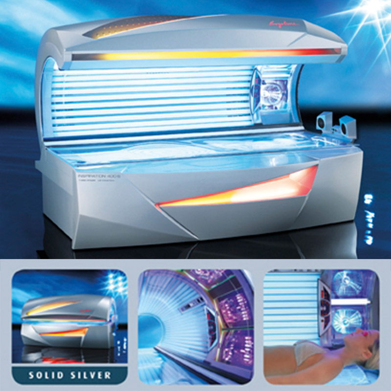 Solarium »Ergoline Inspiration 450 Twin Power Sensitive Beauty Hybrid«